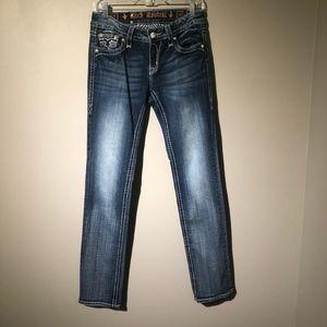 Rock Revival Gina Straight sequin Pocket Jeans